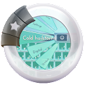 Cold hailstorm GO Keyboard icon