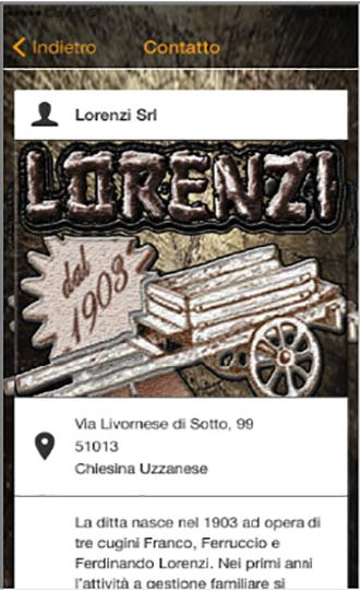 Lorenzi Srl- screenshot