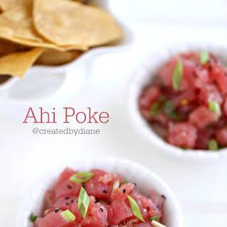 Ahi Poke Recipes.