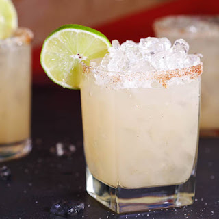 Spicy Grapefruit Margarita.