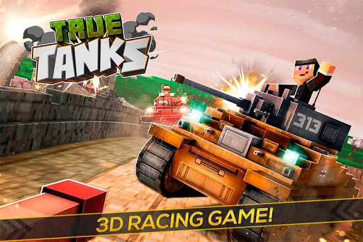 True Tanks of War 3D