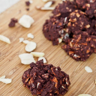 Almond Chocolate Nut Clusters {Gluten-Free}.