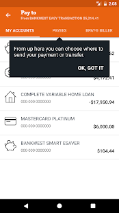 Bankwest- screenshot thumbnail