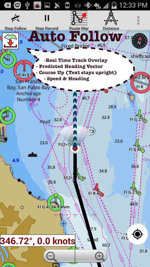 IBoatingMarine Charts Lake Fishing Maps Android Apps On - Us to brazil by boat map