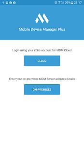 ManageEngine MDM - náhled