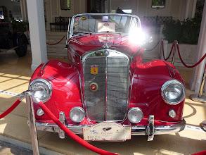 Photo: Mercedes, classic car in Hua Hin, Thailand.