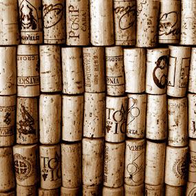 in vino veritas by Jasminka Lunjalo - Artistic Objects Other Objects ( cork, vino, jasminka lunjalo )