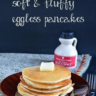 Soft and fluffy basic pancakes (Egg-less)