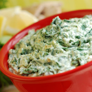 Low-Fat Greek Yogurt Spinach Dip.