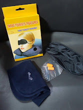 Photo: Travel Kit(Earplugs,Pillow & Eyeshades)
