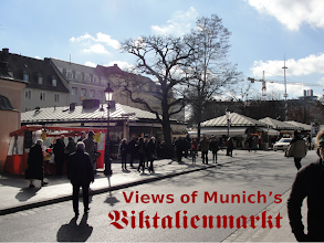 """Photo: Welcome to Munich's 200-year-old """"victuals market"""", open daily except Sundays, and popular with gourmets. Just round the corner from Marienplatz"""