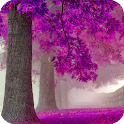 Purple Trees Live Wallpaper icon