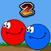 Red Blue Ball 2 Android APK Download Free By Amine Squall