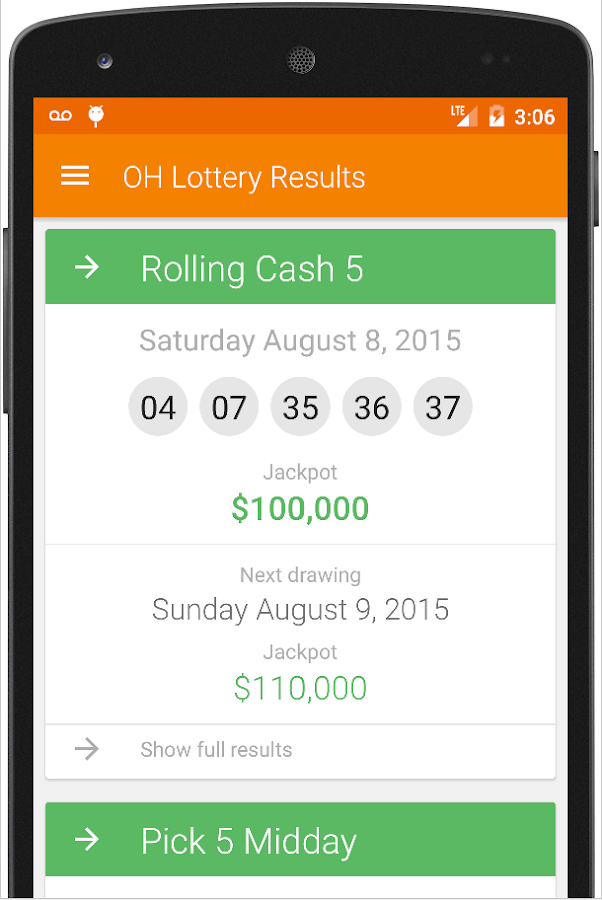 OH Lottery Results - Android Apps on Google Play