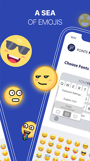 Fonts-Keyboard  screenshots 2
