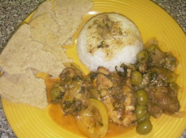 Monika's Moroccan Chicken Recipe