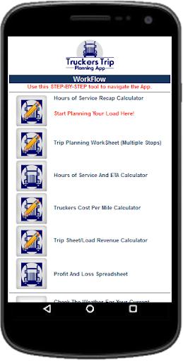 Truckers Trip Planning App (Solo Owner Operators) App Report