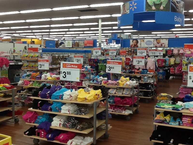 Photo: Here's the Baby section!  Lots of choices here!