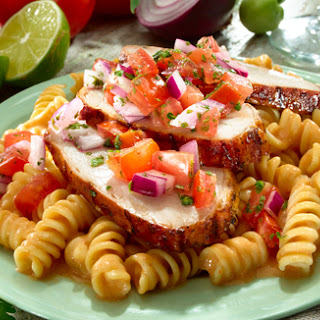Chipotle-Salsa Pork Tenderloin.