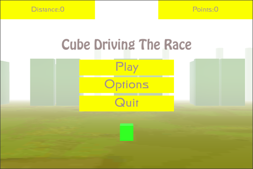 Cube Driving The Race
