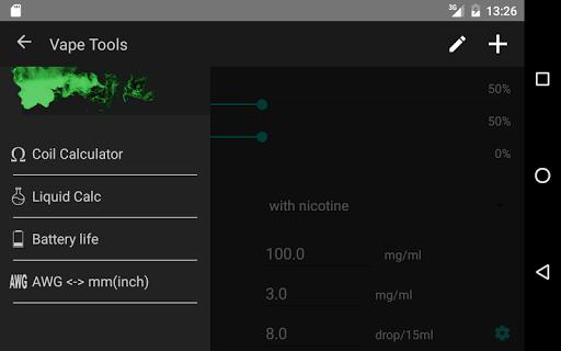 Android için Vape Tools Box Uygulamalar screenshot
