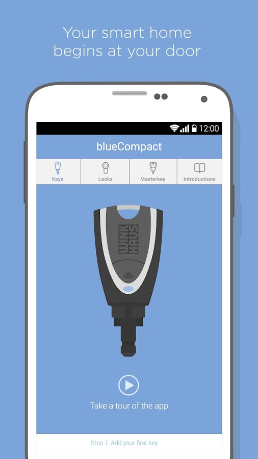 blueCompact- screenshot