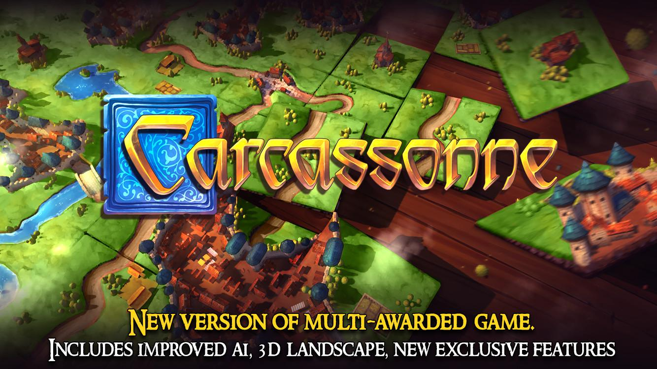 Carcassonne: Official Board Game -Tiles & Tactics- screenshot