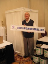 Photo: Grayling Industries at the PACNY Conference.  Future Environment Designs uses Grayling products in our asbestos training classes.
