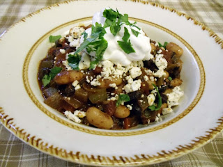 Black And White Bean Chili Recipe