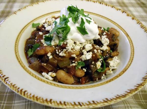 Black And White Bean Chili