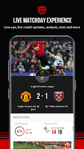 Manchester United Official App 6.6.2