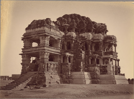 The Great Sas-Bahu Temple, Gwalior