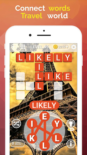 Word Travel:World Trip with Free Crossword Puzzle  screenshots 3