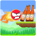 Knock Down Bottles 321 :Ball Hit Cans & Shoot Down icon