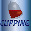 Blood cupping icon