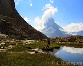 Photo: Fishing Lake Matterhorn
