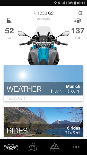 BMW Motorrad Connected 1.7.1 screenshots 1