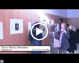 Video: 19 de març: Exposició i placa a Mónica Marambio (1)