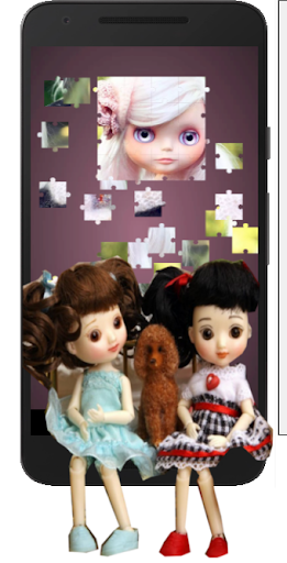 Cute Dolls Jigsaw And Slide Puzzle Game apkmr screenshots 2