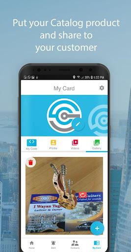 SnapCard - Digital Business Card 1.1.1 screenshots 2