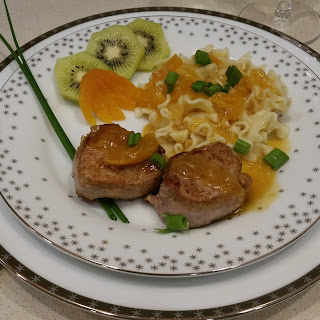 Pork Tenderloin with Apricot Sauce