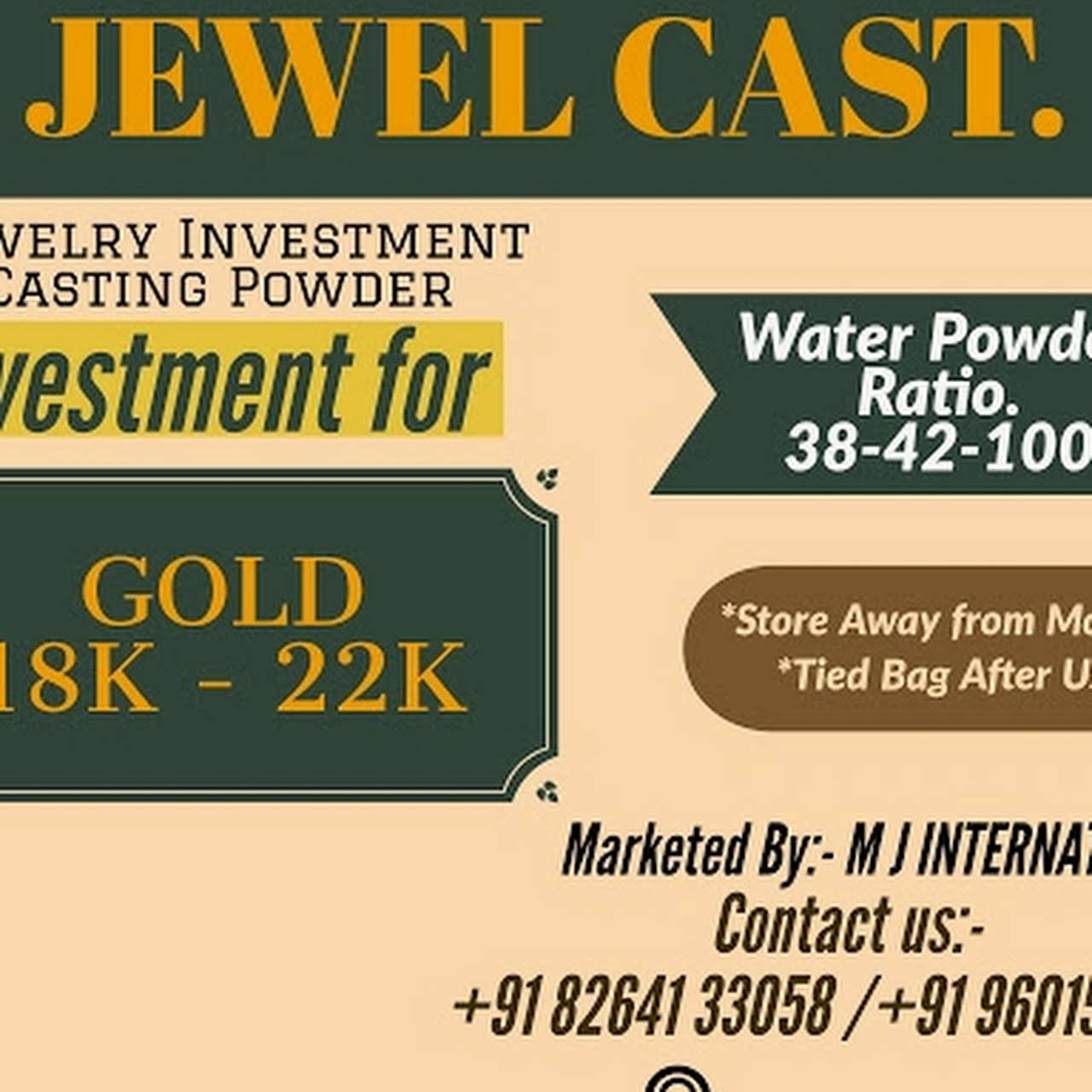 M J International - Jewellery Equipment Supplier in Rajkot