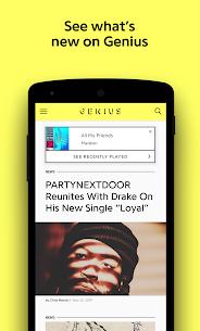 Genius Song Lyrics & More v5.2.4 Ad-Free APK 1