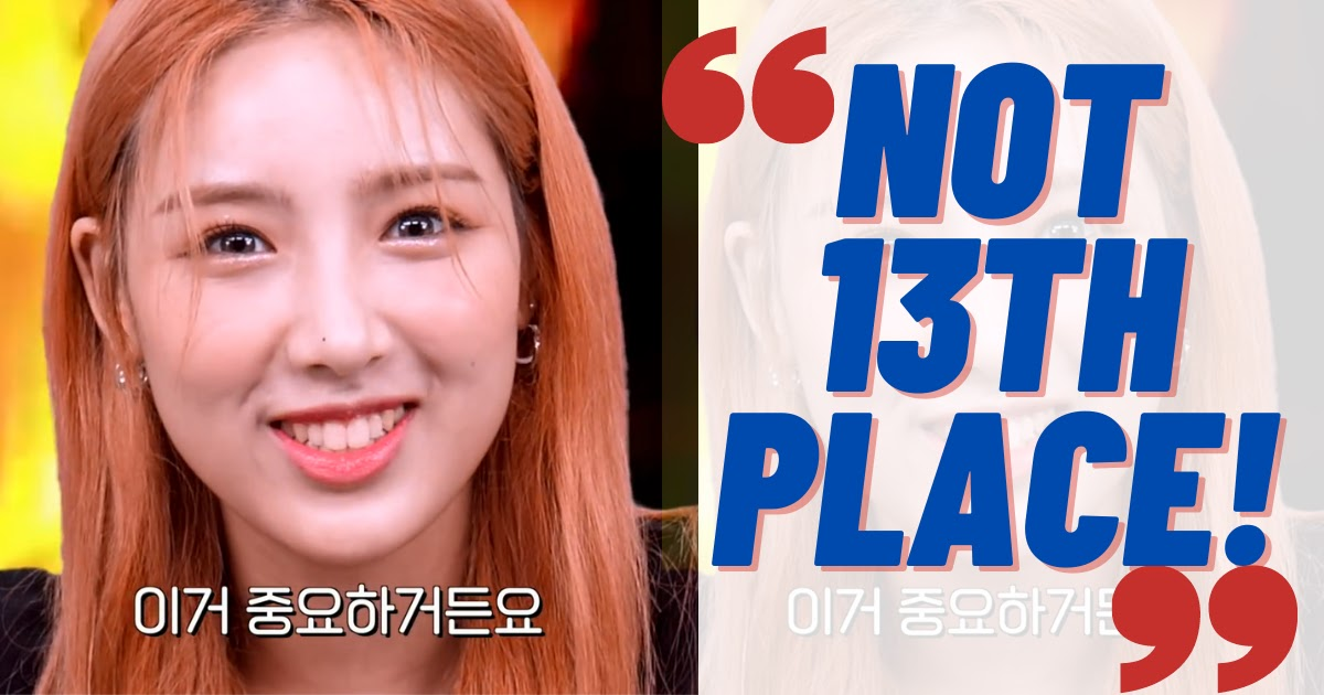 """LIGHTSUM's Han Chowon Sets The Record Straight About Her Real Rank On """"Produce 48"""""""