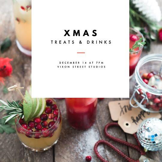 Xmas Treats & Drinks - Christmas Template