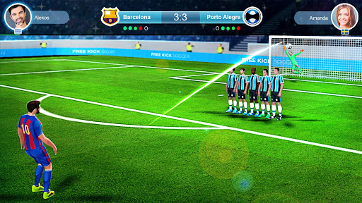 FreeKick PvP Football 1.2.1 gameplay | by HackJr.Pw 3