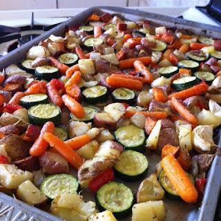 Italian Herb & Parmesan Roasted Veggies
