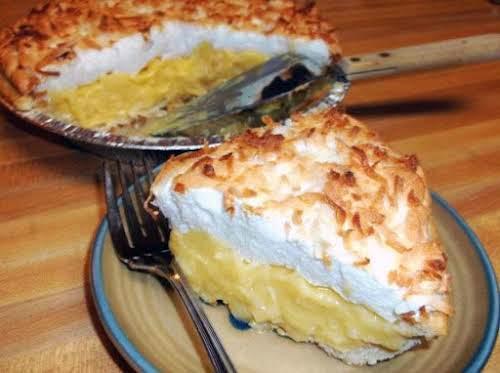 """Coconut Cream Pie """"A cream pie classic. We love it!"""" - BlueGinghamApron"""