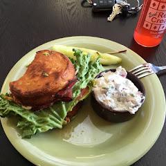 Yummy sandwich!