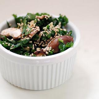 Raw Shiitake Kale Salad